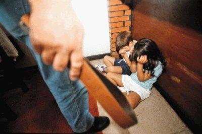 Violencia con niños