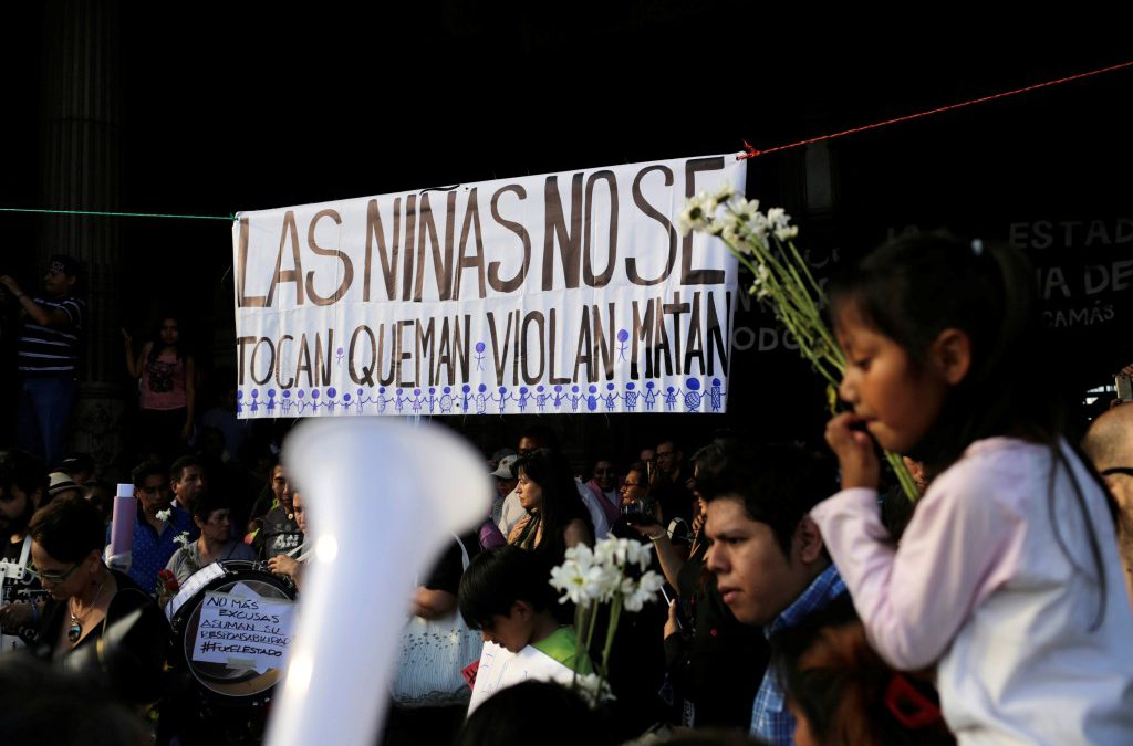 Pronunciamiento por las niñas de Guatemala