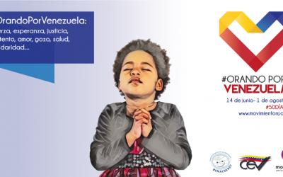 Lanzamiento de la campaña #OrandoPorVenezuela
