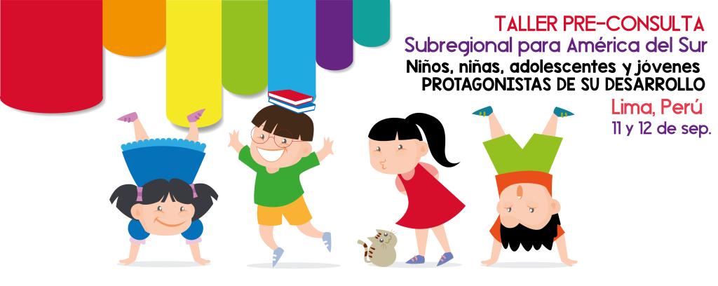 Taller Pre-consulta: Niños, niñas, adolescentes y jóvenes protagonistas de su desarrollo