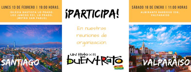Movimiento NJ-Chile y CLAVES realizarán campaña del Buentrato