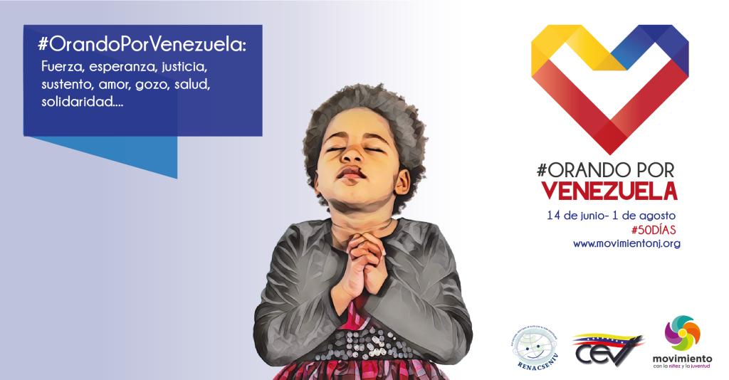 Orando por Venezuela