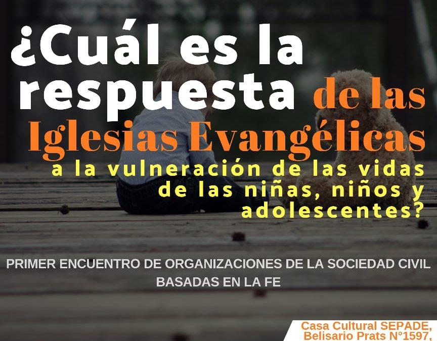 Convocatoria al Primer Encuentro de Organizaciones Basadas en la Fe en Chile