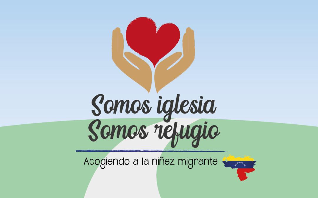 MNJ lanza campaña por la niñez migrante venezolana: «Somos iglesia, somos refugio»