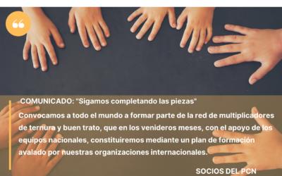 COMUNICADO: Trabajo Mancomunado en América Latina