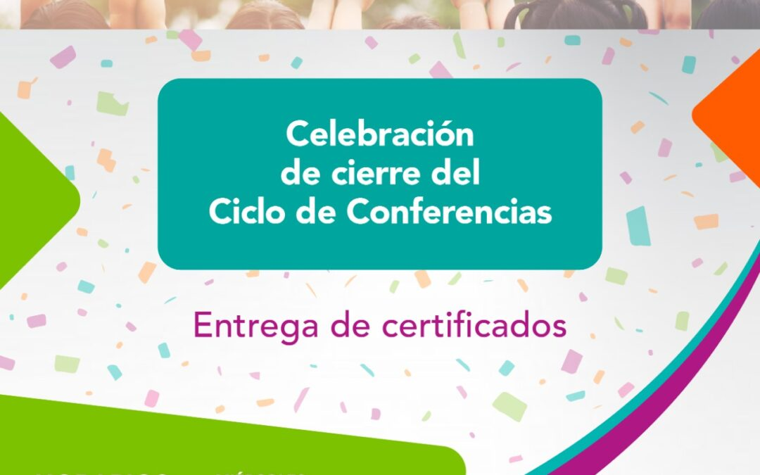 Cierre virtual de ciclo de conferencias
